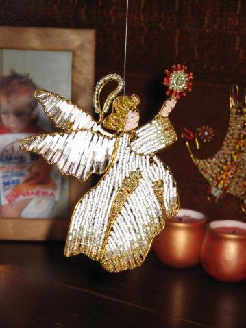 ангел из бисера
