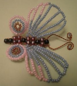 плетение бабочки