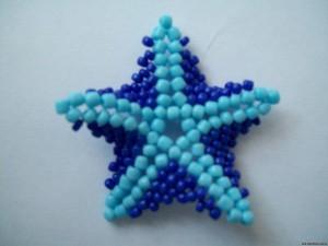 Звезда из бисера – легко, просто и  красиво