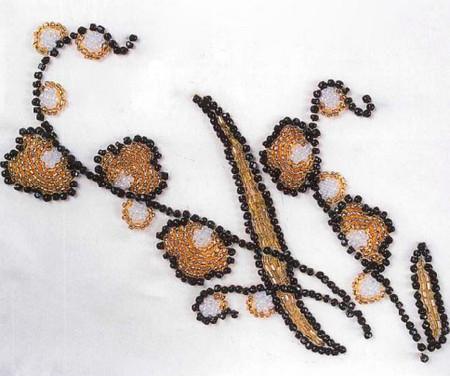 узор для вышивки бисером