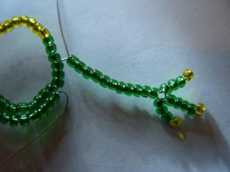 плетение бисером лягушки