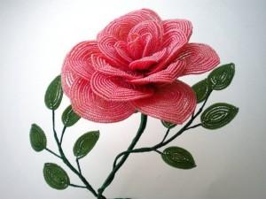 Французское плетение бисером: пошаговый мастер-класс