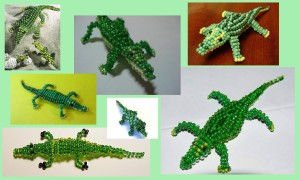 Как сделать из бисера крокодила: подробное руководство