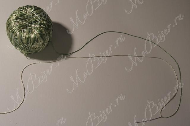 нить для вязания бисером