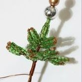 плетение елки из бисера
