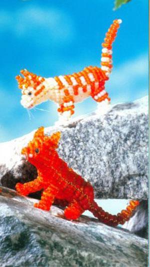 Животные из бисера: воплощаем мечту в реальность!