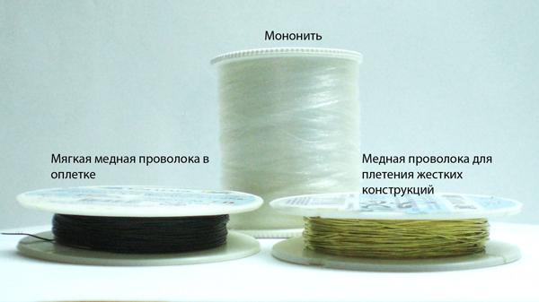 Нити для плетения из бисера