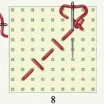 вышивка крестом иголка