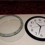 часы вышивка крестом