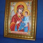 вышивка крестом иконы фото