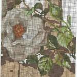вышивка розы крестом схемы