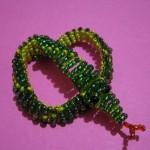 змея из бисера